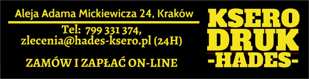 druk kolorowy cena Kraków Kawiory