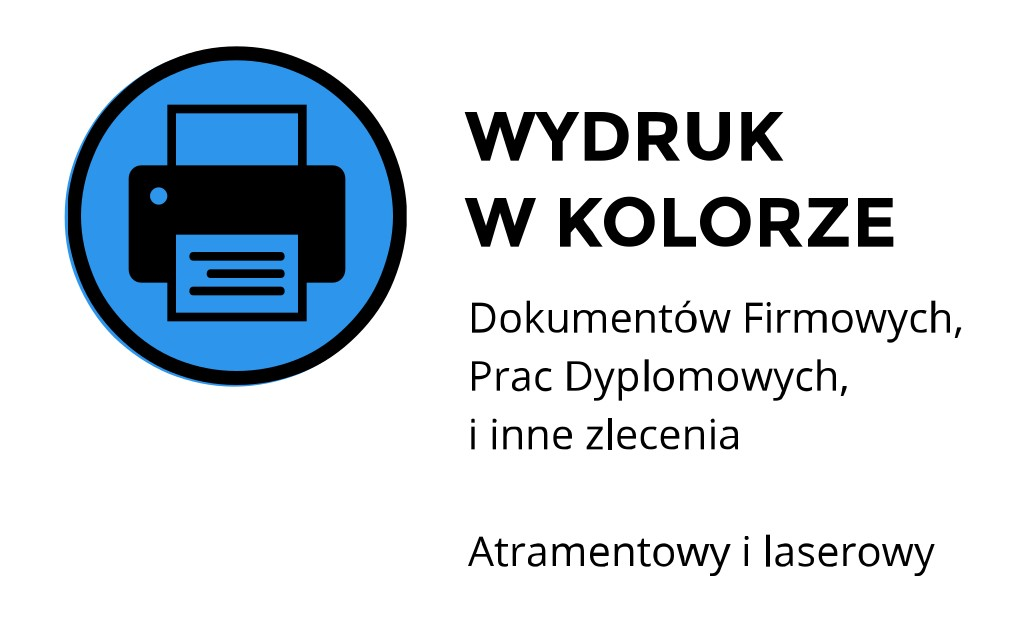 druk w kolorze Kraków Miechowska