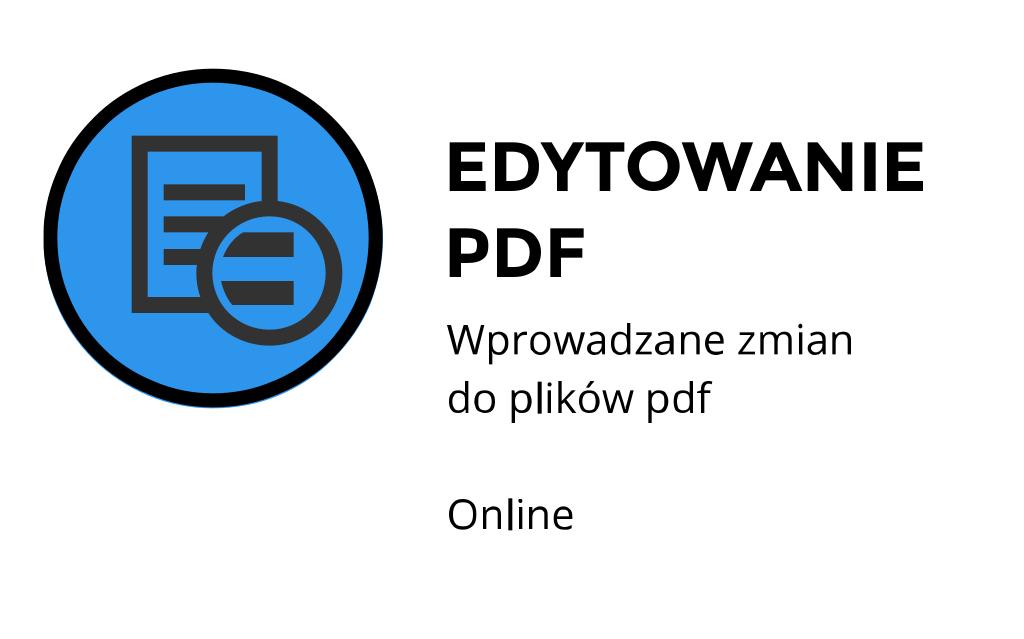 edytowanie plików pdf ul. Stanisława Jachowicza