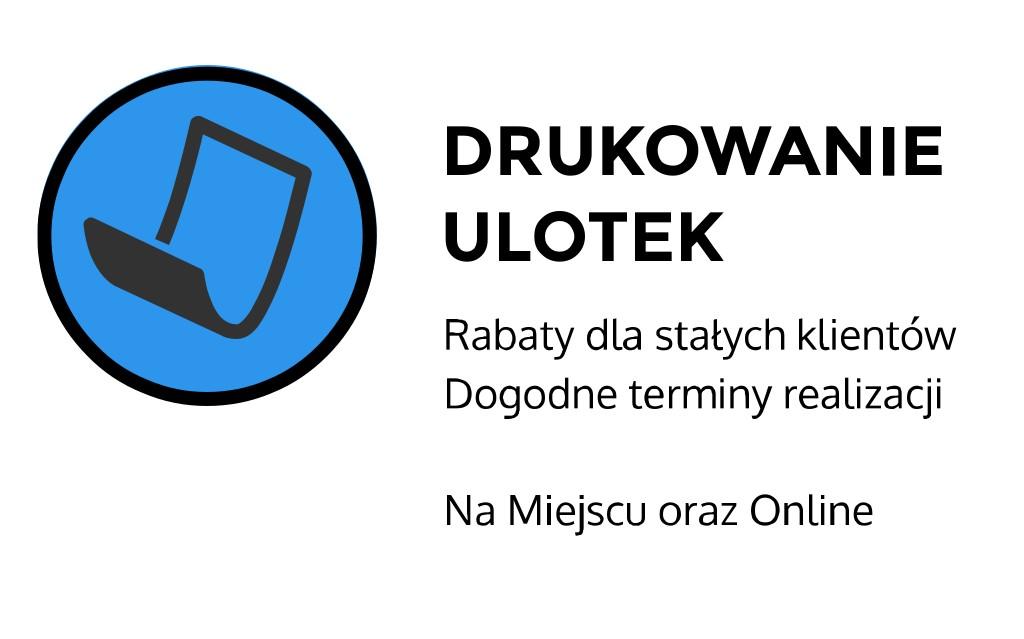 drukowanie ulotek Kraków Kawiory