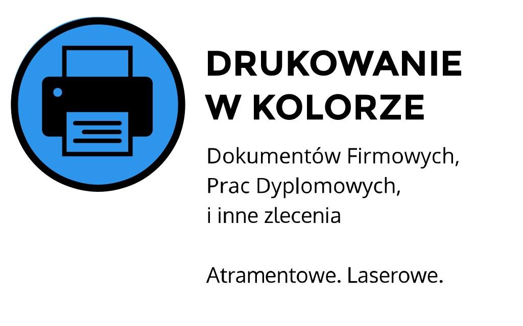 drukowanie w kolorze Kraków Kawiory