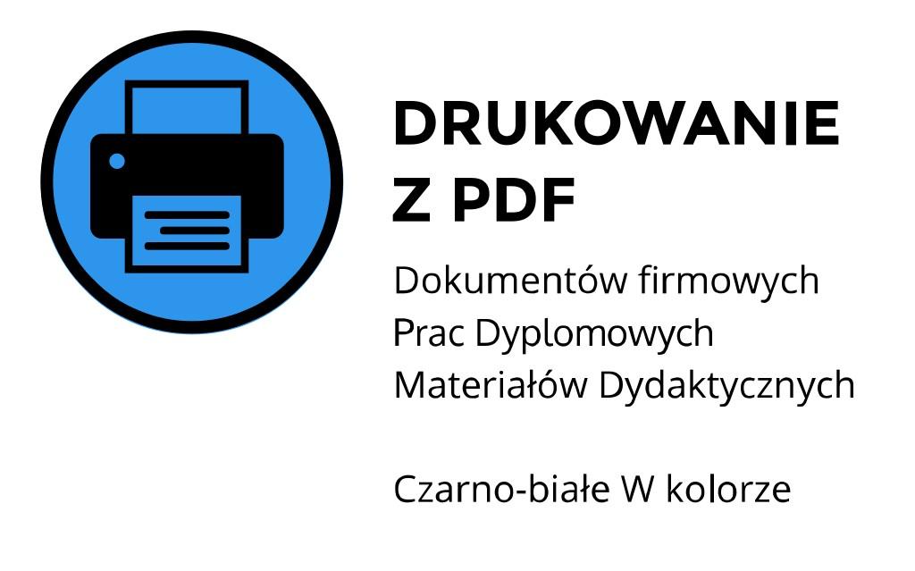 drukowanie z pdf Kraków Kawiory