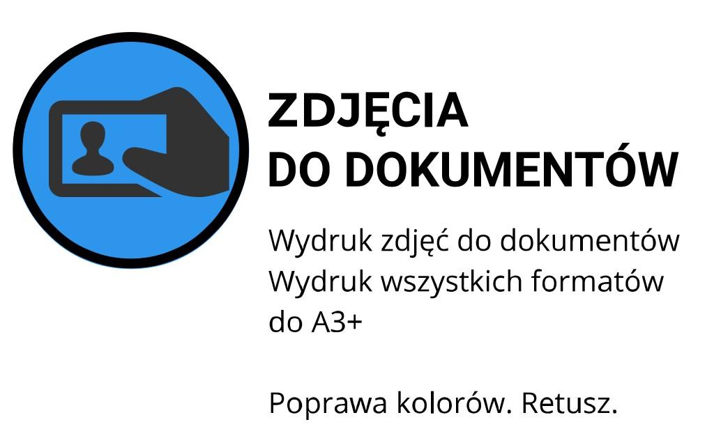 drukowanie zdjec do dokumentow Kraków Kawiory