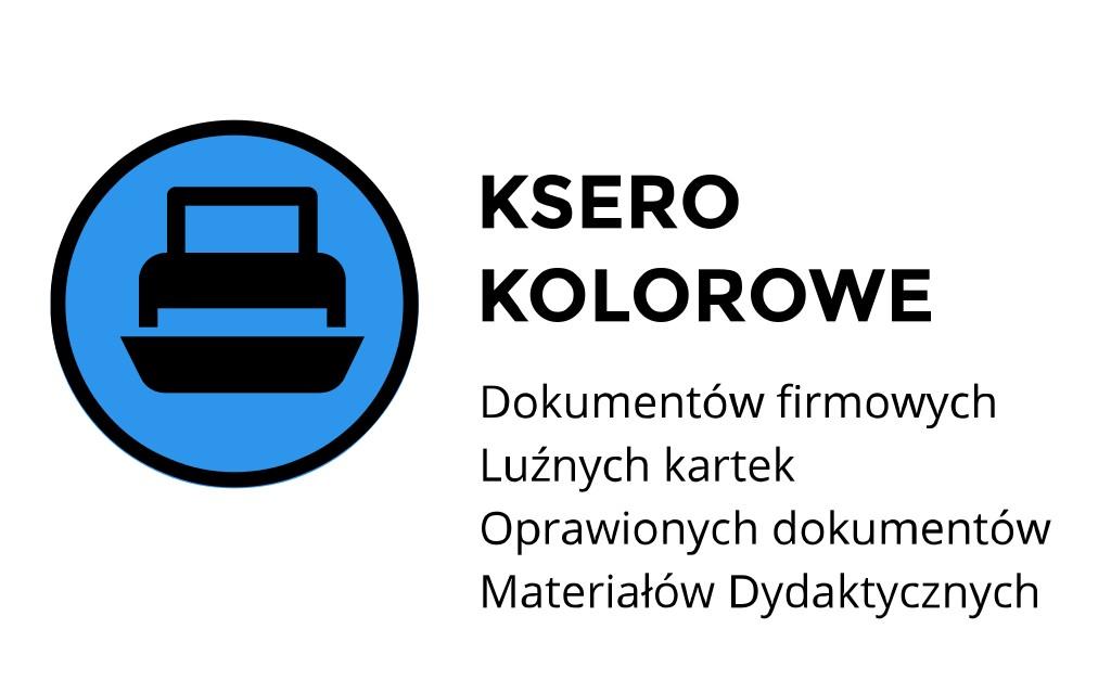 ksero kolorowe Kraków Kawiory