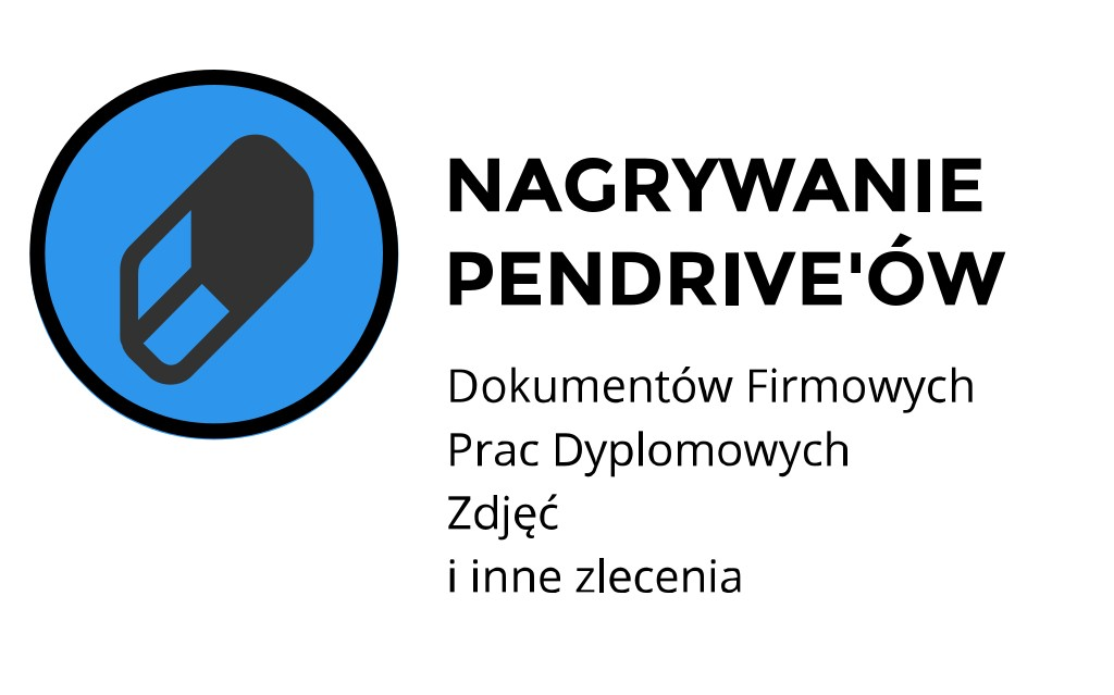 nagrywanie pendrivów Kraków Miechowska