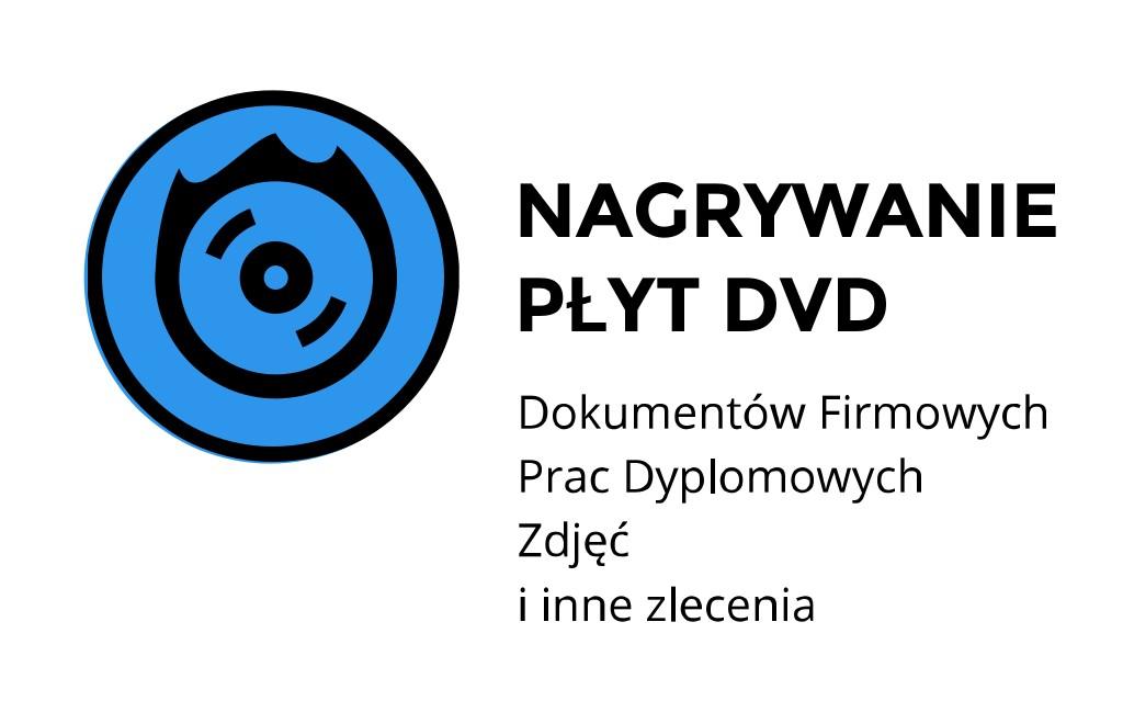 nagrywnaie płyt dvd Kraków Kawiory