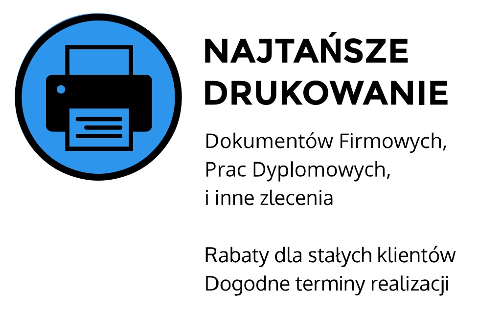 najtańsze drukowanie Kraków Miechowska