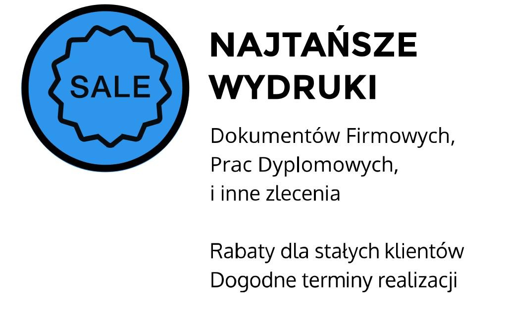 najtańsze wydruki Kraków Miechowska