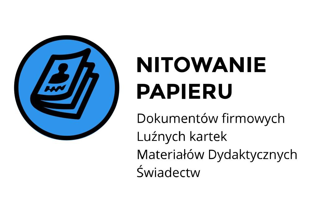 nitowanie papieru ul. Stanisława Jachowicza
