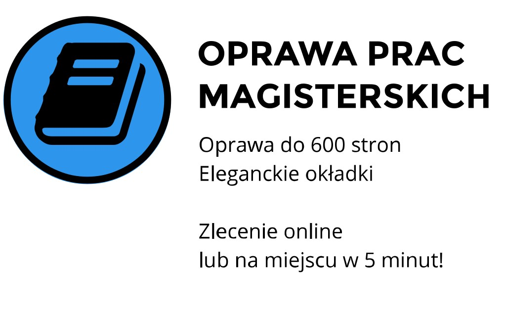 oprawa pracy magisterskiej ul. Skałeczna