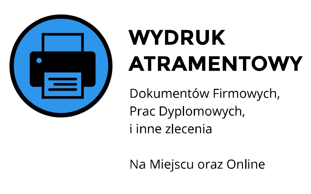 druk atramentowy A4 ul. Stanisława Moniuszki