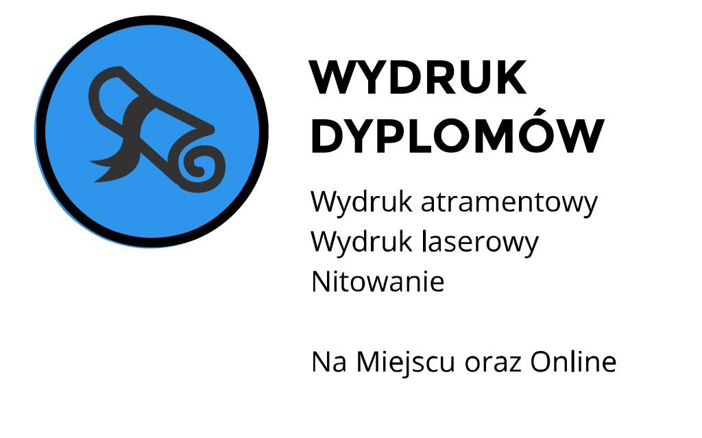 wydruk dyplomów cena ul. Skałeczna