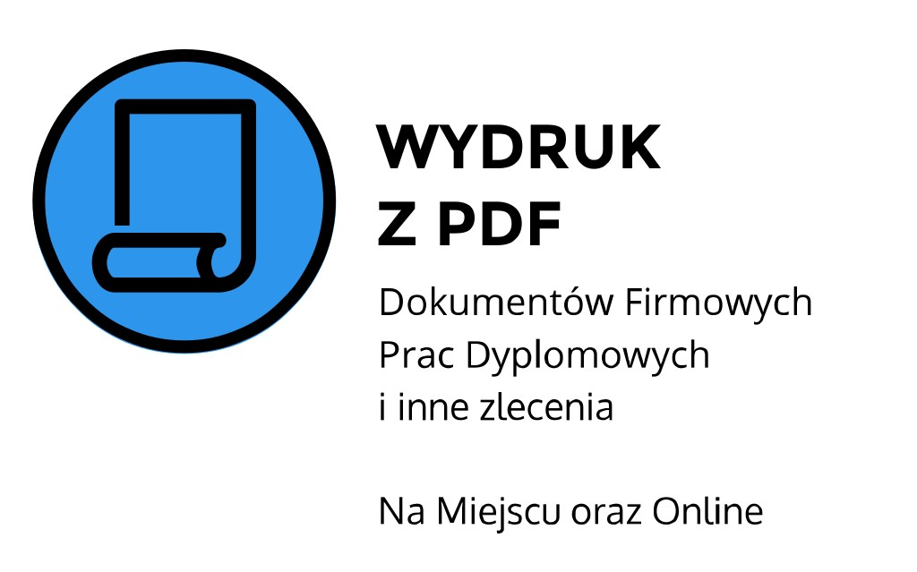 jak wydrukować książkę z pdf ul. Stanisława Moniuszki